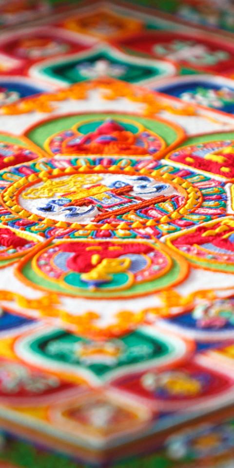Sand Mandala Large